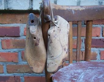 Old Wooden Shoe Molds. Wooden shoe form. Cobbler's Molds. Home. Shop Decor