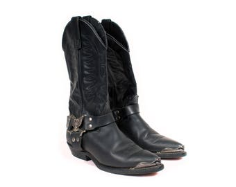 Women's Leather Biker Boot