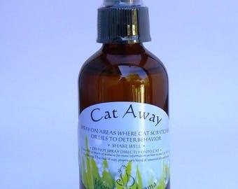 Cat Away Spray, 4 oz Aromatherapy cat repellent