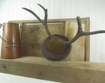 Vintage Antler Mount, Wall Decor, wall hanging, hunting lodge, deer,cabin decor, antler, horns,mount