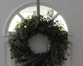 Dried 16 inch euc wreath
