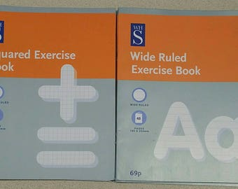 School age writing/maths exercize books by WHSMITH co. Quantity 10