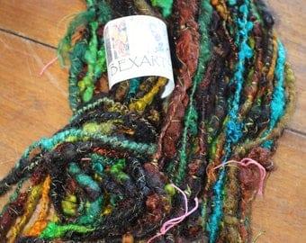 Hand Spun Textured Art Yarn #77