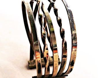 Goldcoated Brass Cuff Bracelet