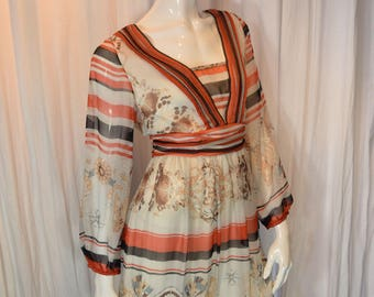 Gucci peasant dress