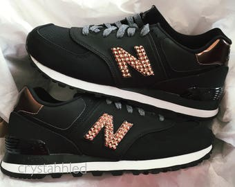 Women's New Balance 574 - Swarovski New Balance - Bling New Balance - Bling Shoes - Blinged Shoes - Swarovski Crystals - 574 Bling