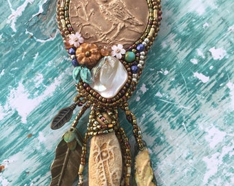 Boho Owl necklace