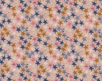 1/2 yard PAPER CUTS by Rashida Coleman-Hale  for Cotton and Steel Starstruck Peachy