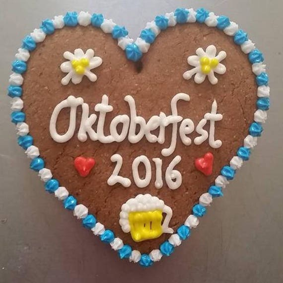 Customized Gingerbread Heart (Lebkuchen) - X-large