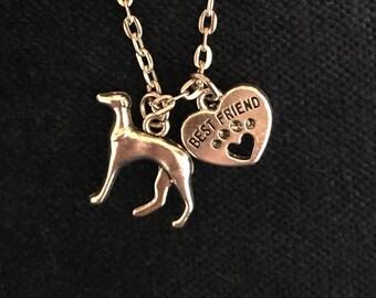 Greyhound Necklace Greyhound Jewelry