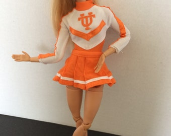 Vintage Barbie University of Tennessee Cheerleader Outfit - '96