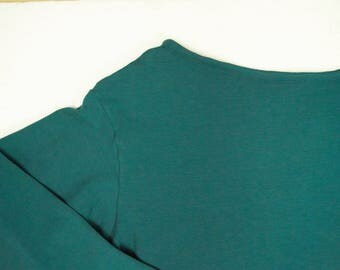 tshirt in organic cotton with long sleeves