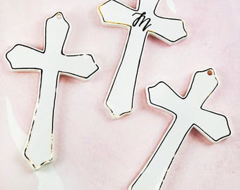 Easter Cross for the wall or for decoration- can be personalized