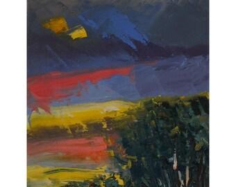 Sunset In Mesquite 2,