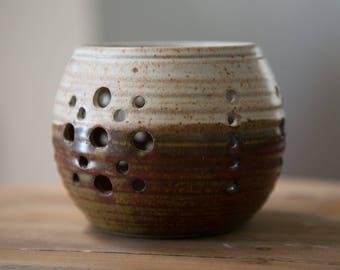 Hively Oregon Studio Art Pottery- Votive Candle Holder