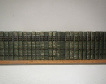 1959 - 1960 Complete set of 25 FUNK & WAGNALLS Standard Reference ENCYCLOPEDIAS A thru Z