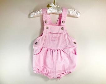 18 Month Pink OshKosh Overall Shorts