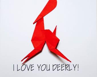I Love You Deerly!