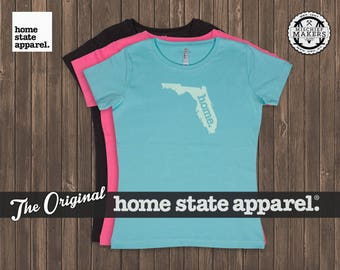 Florida Home. T-shirt- Women's Relaxed Fit