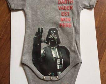 baby bodysuit darth vader coté obscur ##cc-darth vader