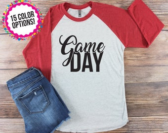 Game Shirt/ Gay Day Shirt/ Football Mom Shirt/ Football Shirt/ Baseball Mom Shirt/ School Spirit Shirt/ Custom Football Shirt/ Football Team