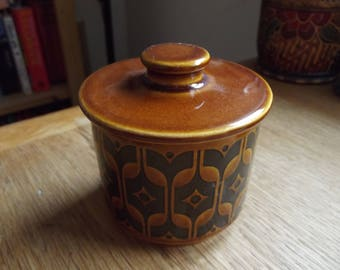 Hornsea Heirloom sugar/marmalade pot 1976