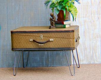 Vintage Gentlemanu0027s Trunk 1930u0027s, Coffee Table Made From A Vintage  Traveleru0027s Trunk, Industrial,