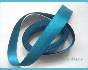 2 metres satin ribbon double sided 15 mm