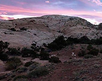 Southern Utah Panoramic Sunset