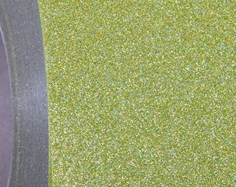 "Glitter Holo Pear 20"" Heat Transfer Vinyl Film By The Yard"