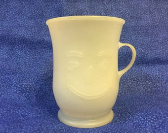Vintage white Kool Aid cup