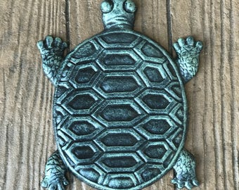 Turtle Stepping Stone, garden decor, gardening