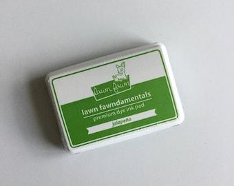 "Lawn Fawndamentals Premium Dye Ink Pad LF1084 ""Jalapeno"" Brand New, Unopened"