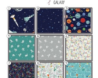 galaxy bedding | etsy