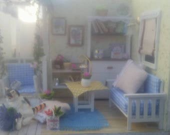 Miniature Doll House Room