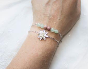 Fertility Gemstone Bracelet for Mom Trying to Conceive Fertility Gemstones - Fertility Crystals - Gift for Christmas - Infertility Jewelry