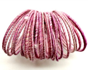 Petal Pink WoolyWire - 36 inches