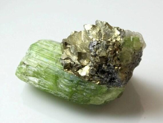 Tremolite with Pyrite, M-1085