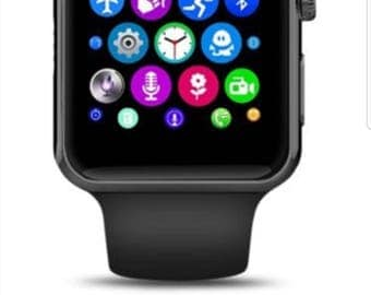 ISmart Smart Watch With Bluetooth Camera Text Call Mic for iPhone Samsung LG