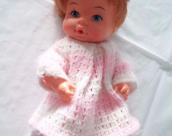 Playmates Baby Doll Hong Kong 1976 Red Hair Drinks Wets 1970s