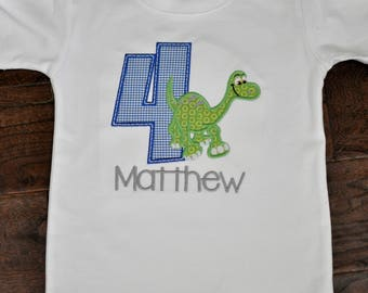 Arlo The Good Dinosaur Birthday Shirt, Inspired by