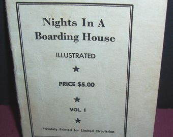 1930s Nights In A Boarding House erotic booklet