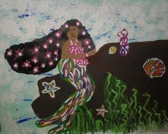 Original Black Art-Yemanya