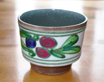 Vintage German Planter from Strehla Keramik
