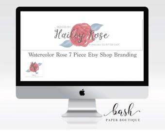 Shop Branding, Shop Banner, Shop Branding Set, Shop Banner Set, Shop Banner Design, Shop Logo, Shop Logo Design, Business Custom Logo Design