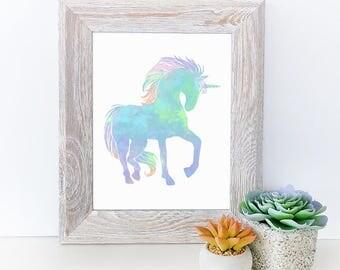 unicorn print- unicorn decorations - unicorn wall art - wall art unicorn - unicorn wall decor - unicorn prints - unicorn gift