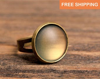Rustic ring, birthday gift for women, jewelry gift for her, girlfriend gift, statement ring, adjustable ring, Christmas gift, mom gift