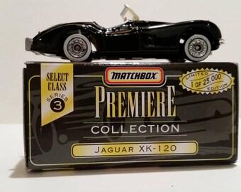 Vintage Matchbox Premiere Collection Jaguar XK-120