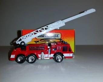 Vintage Matchbox Ladder Fire Truck