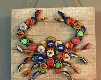 Beer cap crab